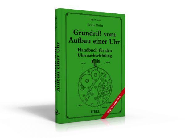 Grundriß vom Aufbau der Uhr (Buch von Erwin Kühn)