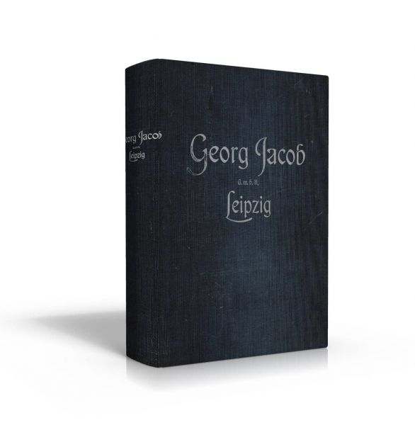 Georg Jacob, Leipzig: Katalog 1911