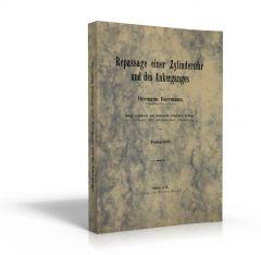 Repassage einer Zylinderuhr und des Ankerganges (Buch von Hermann Horrmann)