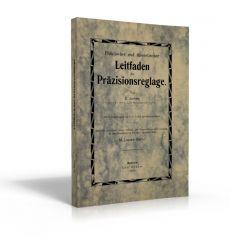 Leitfaden der Präzisionsreglage (Buch von E. James)