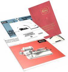 Boley Drehbank Kataloge (Konvolut) + Andrä/Zwingenberger
